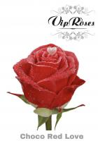 Vip roses choco red
